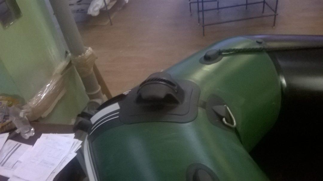 Тюнинг носовой части лодки (ролик, скоба, рым)